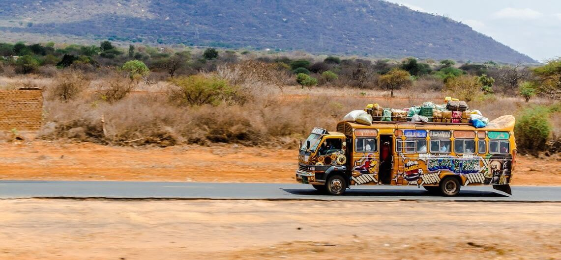 Using public transport is one of the 7 easy steps to travel nore responsibly - Happy Africat Tours